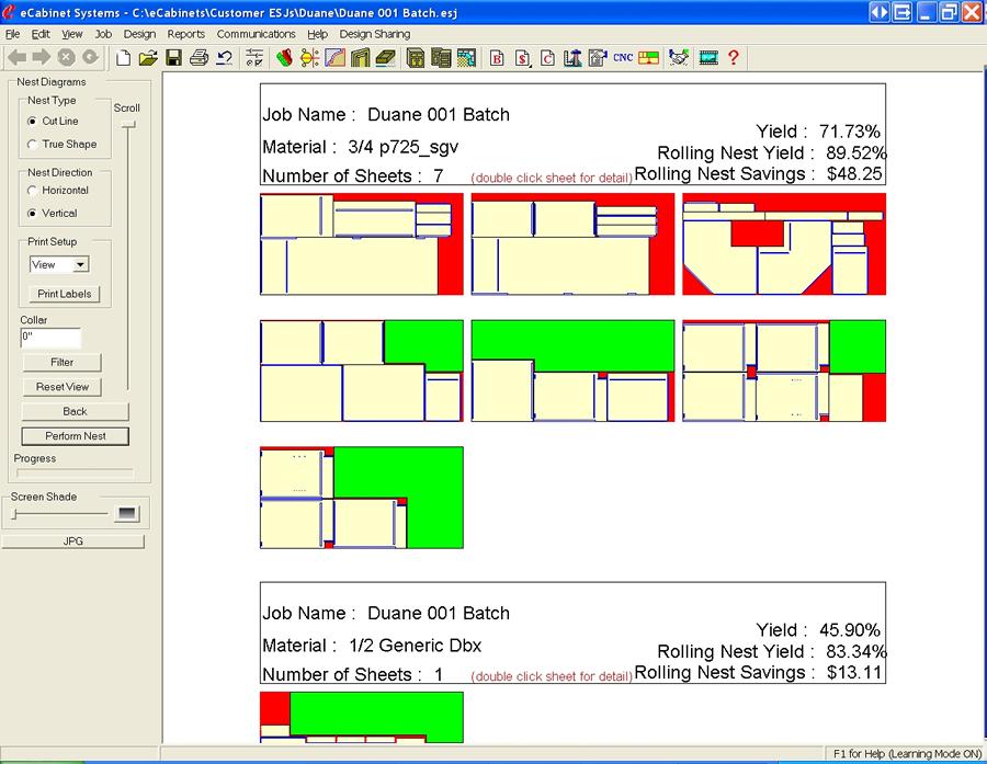 Cabinet Design Software  3D Cut List Job Costing Optimizer